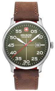 Swiss Military Hanowa Herren Armbanduhr Lederarmband 06-4326.04.006