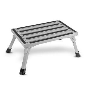 Faltbare Aluminium Trittstufe  bis 150 kg kleines Packmaß