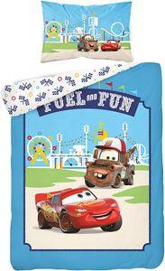 familie24 Cars Hook & LightningMcQueen Bettwäsche 100% Baumwolle 100x135cm / 40x60cm Babybettwäsche fürs Kinderbett