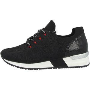 Rieker Damen Sneaker in Schwarz, Größe 39