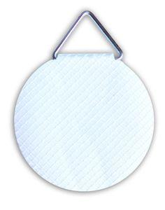 agipa Bildaufhänger Durchmesser 30 mm gummiert 10 Stück