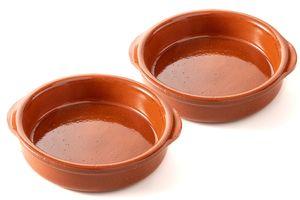 FUMOSA »Piataci« Grillschale, aus Keramik   Keramikschale, Grillplatte Größe: 2x 18 cm