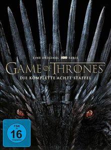 Game of Thrones - kompl. Staffel 8 (DV)R FINALE Staffel, 4Disc, *Repack! - WARNER HOME  - (DVD Video / Fantasy)