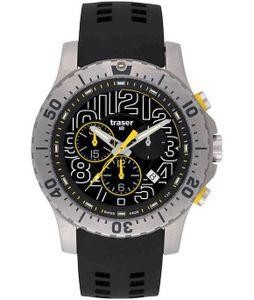 Traser H3 Watches Elite Chronograph Silikon 105858