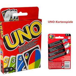 Für Kinder und Familie geeignete Kartenspiele Normal-UNO(bunte Karte)