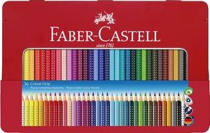 FABER-CASTELL Dreikant Buntstifte Colour GRIP 36er Etui