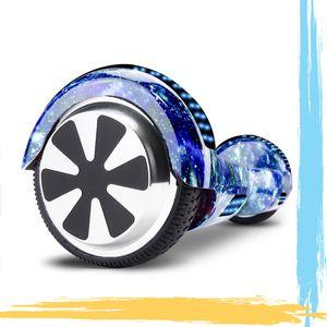 NewHover 6,5 Hoverboard,Elektroroller E-skateboard Self Balance Scooter Motorbeleuchtung| RGB LED-Leuchten | Bluetooth-Lautsprecher |Rosa
