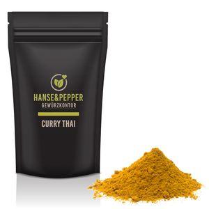 250g Curry Thai Gewürzmischung Gewürzzubereitung Currypulver Thai Curry Thailändisch Gewürzmischung natürlich vom Hanse&Pepper Gewürzkontor
