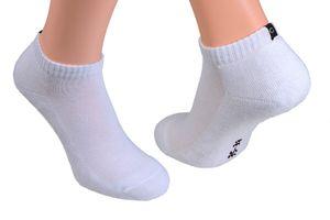 Socken mit Frotteesohle, , Farbe:Sneakers weiß, Gr. :35/38, Menge:12 Paar