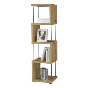 Standregal Raumteiler Bücherregal Stauraumregal STICKS 5-33 Asteiche