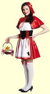 Rotkäppchen Karneval Fasching Kostüm 36
