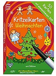 Kritzelkarten Weihnachten (50 Karten)