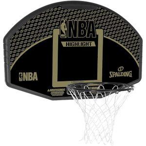 Spalding Backboard Highlight, (80688CN) - schwarz - Größe: 44, 300161901