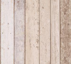 A.S. Création Tapete in Holzoptik Il Decoro Papiertapete braun beige blau 10,05 m x 0,53 m