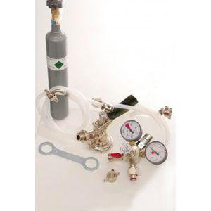 Zubehörpaket 1 mit 5l Profi Adapter, 10mm Bierschlauch und 0,5 kg CO2 Flasche