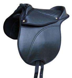 Pony SHETTY Sattel Reitkissen mit Haltegriff  auch für Holzpferde geeignet, Größe:Pony