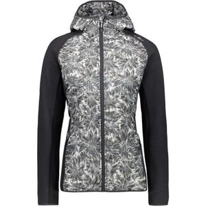 CMP Damen Fleece-Hybridjacke mit Kapuze