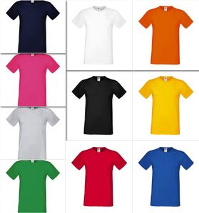 Fruit of the Loom Men`s Sofspun® Herren T-Shirt, Größe:3XL, Farbe:Royal Blau