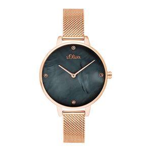 S.Oliver Damen Armbanduhr SO-3657-MQ