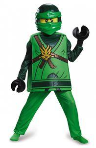 Lego Lloyd Ninjago-Kinderkostüm Ninja grün-schwarz