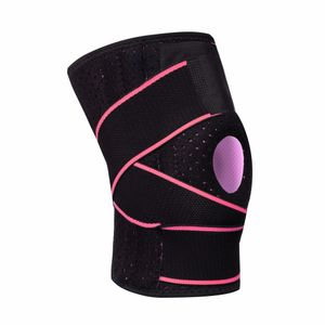 Kniestütze für Männer Frauen mit Seitenstabilisatoren Patella Gel Pads Support FHH90715002PK