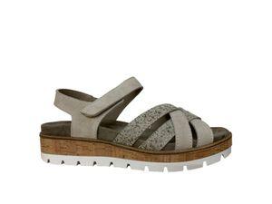 FRANKEN SCHUHE Damen Sandalette mit loser Einlage 201-2 crem beige, Damen Größen:41, Farben:beige