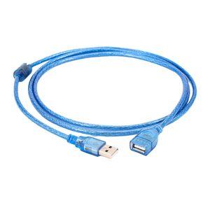 USB 2.0 Verlängerung USB Verlängerungskabel für Kartenlesegerät,Tastatur,Drucker Blau 1,5 Meter USB 2.0-Verlängerungskabel