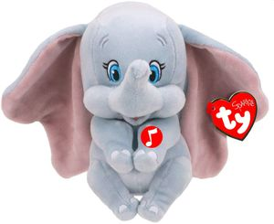 Ty Disney Dumbo - Plüschfigur mit Sound, 15 cm