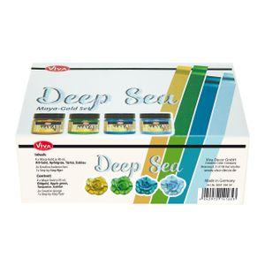 "Viva Decor Maya Gold Set ""Deep Sea"", 7-tlg."