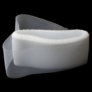 Polyester Ribbon Net Trim Ribbon Hochzeit Nähen DIY Crafts Favors Weiß wie beschrieben