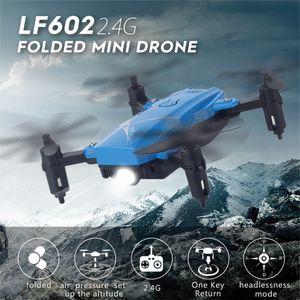 LF602 Faltbare Drohne 2.4G H?henstand halten 6-Achsen-Gyro-Headless-Modus-Trainingsspielzeug Quadcopter