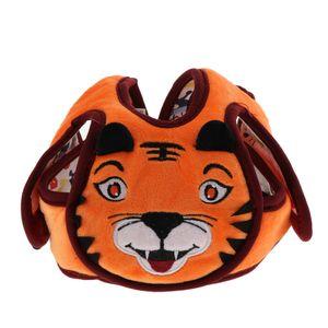Baby Kleinkind Baby verstellbarer Sicherheitshut Schutzhelm Babyhelm Helmmütze aus  weichem Plüsch und Baumwollstoff Tiger wie beschrieben