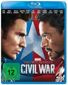 The First Avenger: Civil War BluRay
