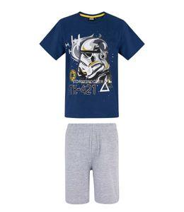 Star Wars Shortama - Blauw - 128