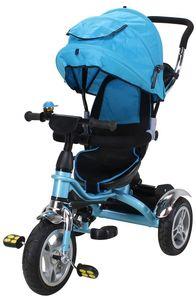 Miweba Kinderdreirad KS07 Schieber 7 in 1 (Blau)