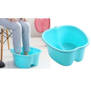 1 Stück Fußbad Blau 38,5 x 34,5 x 18 cm