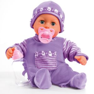 Bayer Design First Words Baby lila 38 cm; 9380002