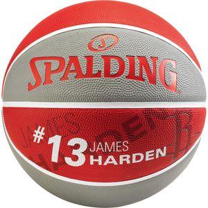 SPALDING NBA Player Basketball James Harden Gr.7 grau/rot