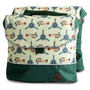 BAMBINIWELT Gepäcktasche, Gepäckträgertasche für Fahrrad, Fahrradtasche für Kinder, wasserabweisend, Modell 26