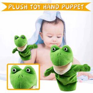 Cartoon Tiere Eltern-Kind Puzzle Plüsch Spielzeug Mund kann Marionette starten WKJ201115003F