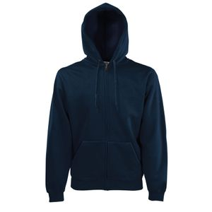 Fruit of the Loom Classic Hooded Sweat Jacket, Farbe:deep navy, Größe:S
