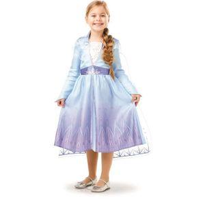 Frozen 2 Elsa Classic Die Eiskönigin Kinder Karneval Fasching Kostüm 116