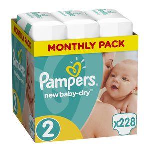 Pampers New Baby, Größe 2 Mini, 228 Windeln