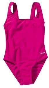BECO Mädchen Kinder Badeanzug Schwimmanzug Einteiler Größe 140 pink