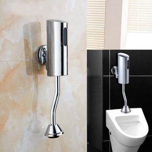 "Automatisch Sensor Urinal Flusher Spülventil Spülung Wandmontage Toilette Infrarot Spüler 1/2"""