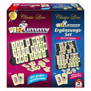 Schmidt Spiele Rummy Classic inkl. Erweiterung für 5. und 6. Spieler