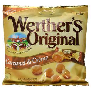 Storck Werthers Original Karamell und Creme Bonbons in der Tüte 225g