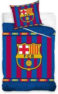 FC Barcelona Bettwäsche Set 140x200 70x90 Baumwolle n Garnitur Fußball