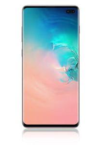 Samsung SM G 975F Galaxy S10+ 512 GB / 8 GB Ceramic schwarz, Farbe:Weiß