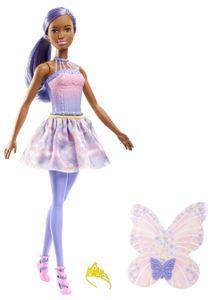 Barbie Dreamtopia Fee Puppe - lila Haare